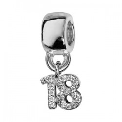 Charms argent 18 ans