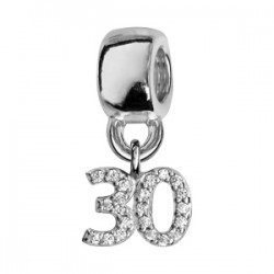 Charms argent 30 ans