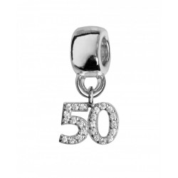 Charms argent 50 ans