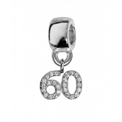 Charms argent 60 ans