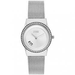Montre Cyro Crystal Silver avec oxydes