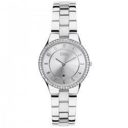 Montre Slim x Crystal Silver avec oxydes - Strom