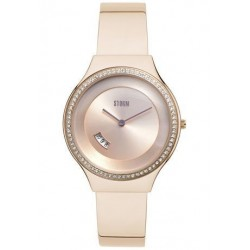 Montre Cody Crystal rose Gold avec oxydes - Strom