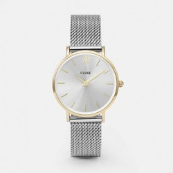 Minuit Mesh Gold/Silver - CLUSE