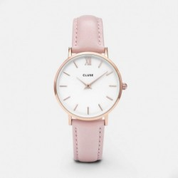 Minuit Rose Gold White/Pink - CLUSE