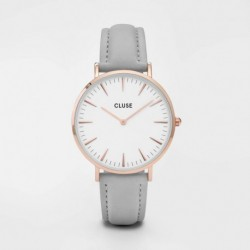 La Bohème Rose Gold White/Grey - CLUSE