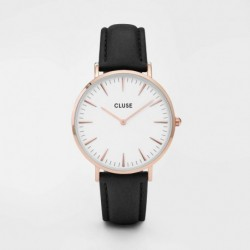La Bohème Rose Gold White/Black - CLUSE