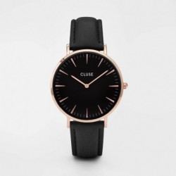 La Bohème Rose Gold Black/Black - CLUSE
