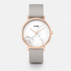 La Roche Rose Gold White Marble/Grey - CLUSE