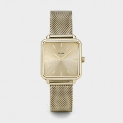 Montre La Tétragone Mesh Full Gold